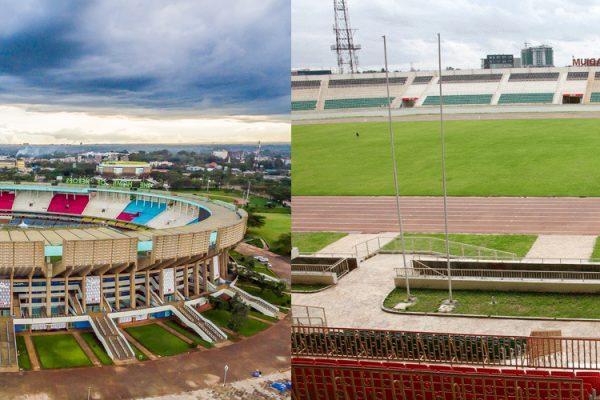 list of top 20 stadiums in Kenya